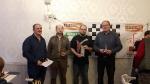 Podium BEM Nord 2018 (ohne Sieger des offenen Turniers Sebastian Werner)